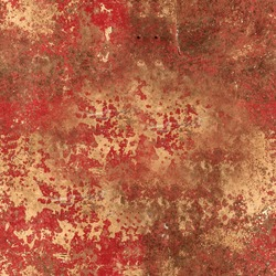 Red Rusted Paint Texture
