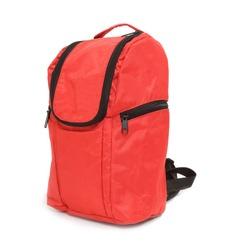 Red schoolbag.
