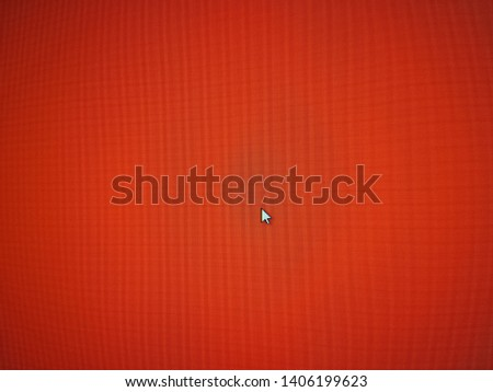 red screen of notebook texture with white  cursor abstract  #1406199623