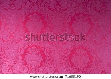Red seamless floral pattern photo shot