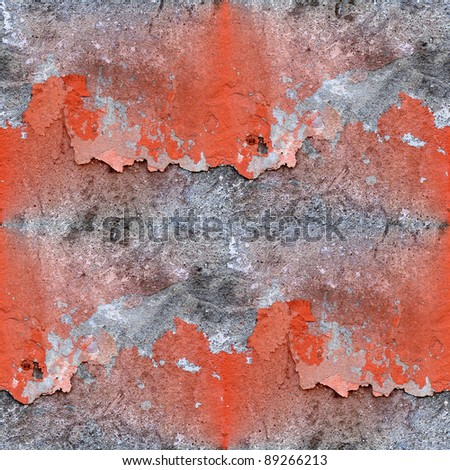 red seamless texture of old stone wall