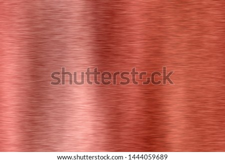 red shiny brushed metal surface