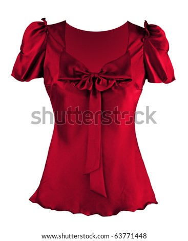 red shirt - stock photo