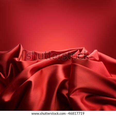 Red Silk Border