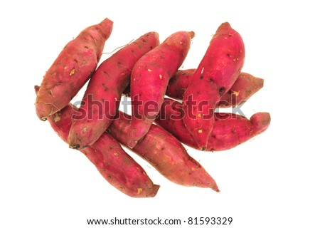 Potato Skins Red Skin Sweet Potatoes