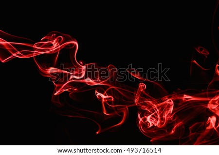 Red Smoke abstract background. #493716514