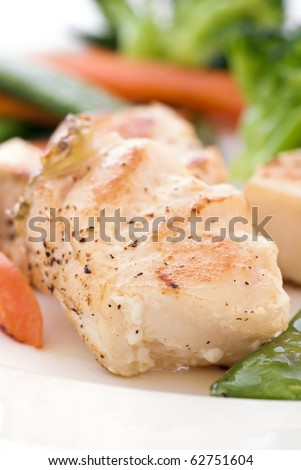 Red Snapper with Vegetable