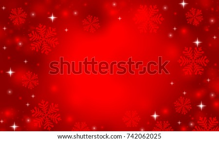 Red snow background. #742062025