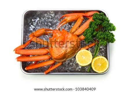 red snow crab
