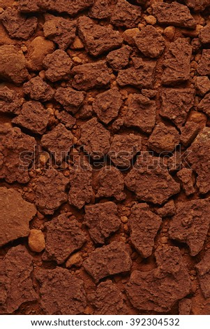 Royalty free red soil texture background top view 392304481 top view of a dried ground surface close up macro sciox Images