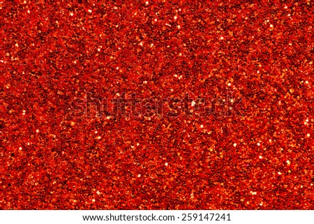 red sparks glitter makeup background