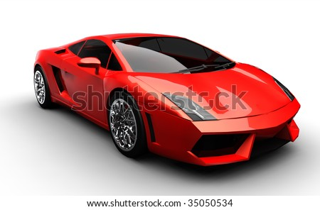 Ferriari Logo Sketches on Stock Photo Red Sports Car 35050534 Jpg