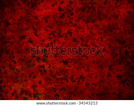 red stained abstract background