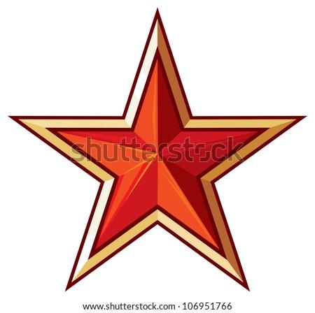 red star  communist star