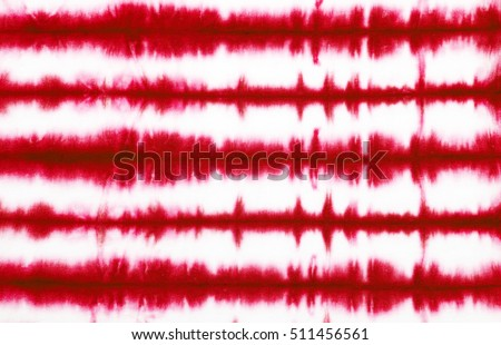 red stripe tie dye pattern background.  #511456561