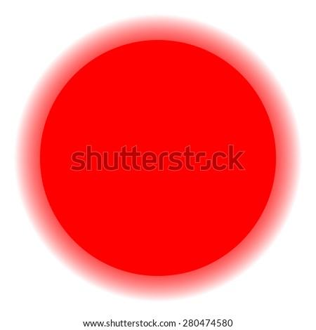 Red sun on white background; star; moon; solar; eclipse; twilight; astro; meteo; planet