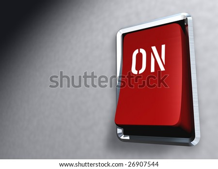 "red Switch ""on"""