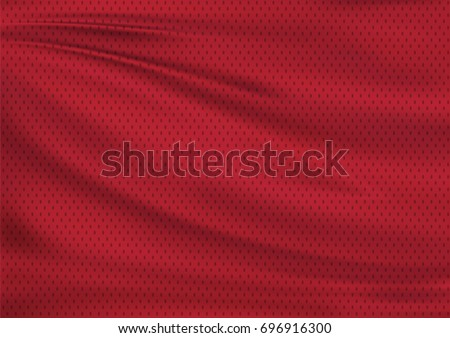 Red textile sports background, illustration