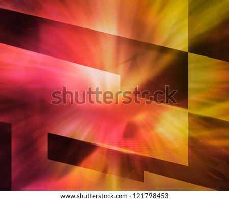 Red Texture Abstract Background