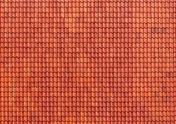 Red tiles roof, architecture background.