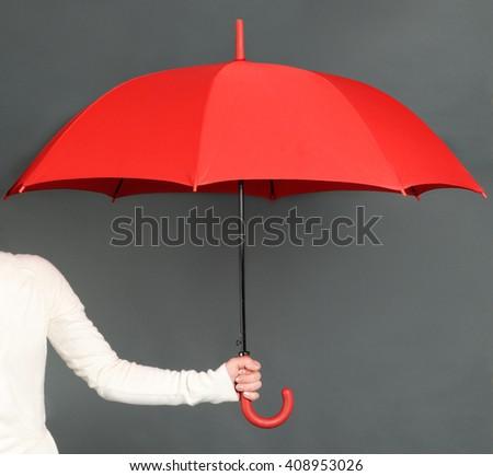 red umbrella #408953026
