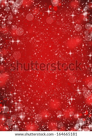 red unfocussed lights background. abstract bokeh lights #164665181