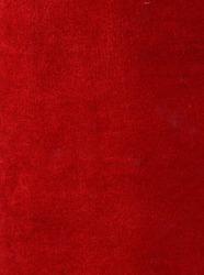 Red velvet fabric texture