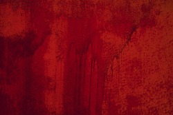 Red vintage wall texture.Urban grunge background. Punk grunge texture. Colorful background