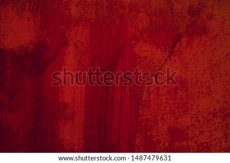 Photo of  Red vintage wall texture.Urban grunge background. Punk grunge texture. Colorful background