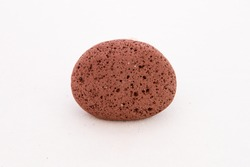 Red volcanic rock from Iceland