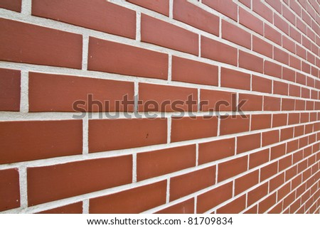 Red Wall brick