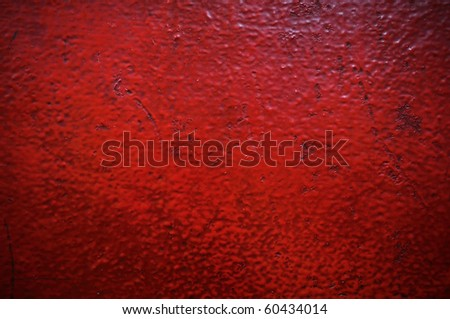 RED WALL OIL COLORS \\ glossy colors\\ wallpaper interior design\\ vintage creative