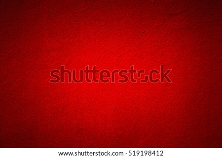 Red wall texture background. - Shutterstock ID 519198412