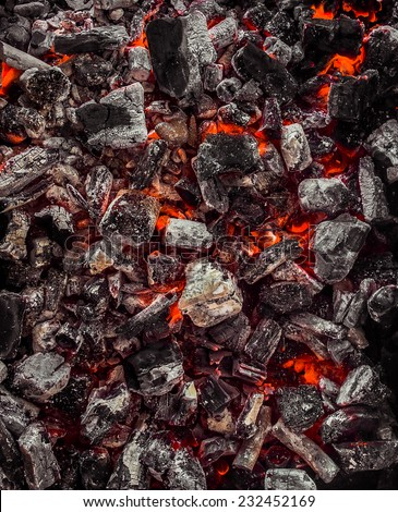 Red Warm Black Coal Background Texture #232452169