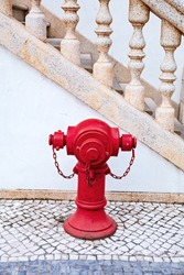 red water pump for fire hydrant