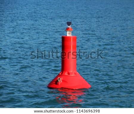 red waterway mark