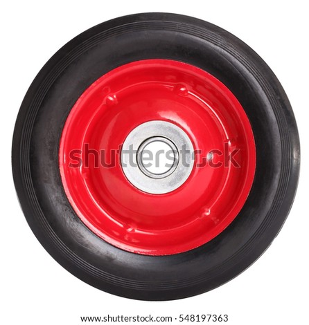 Red wheel #548197363
