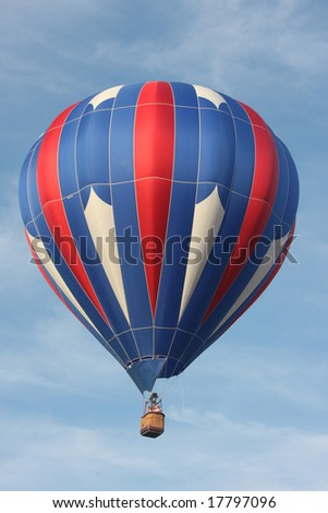 Red White & Blue Hot Air Balloon 15
