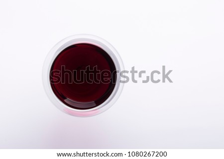 Red wine and grapes border background #1080267200