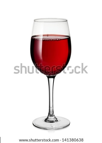 Red wine glass #141380638