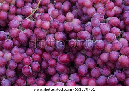 Red wine grapes background #651570751