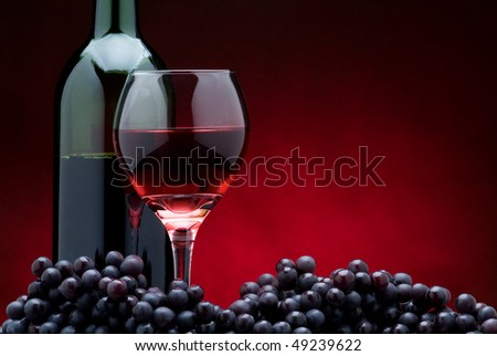 Red Wine on Red II