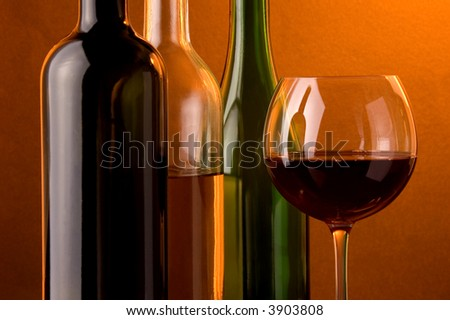 red wine white wine sparkling wine and glass