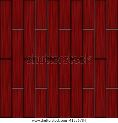 Red Wood Flooring