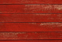 Red Wood Planks Background.
