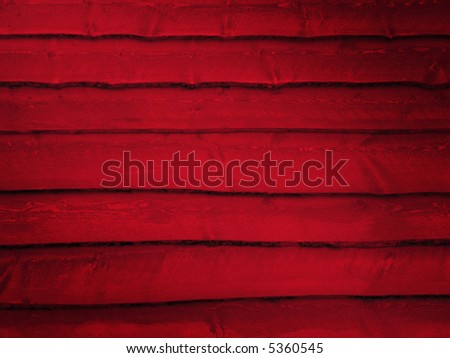 Red Wood Wall