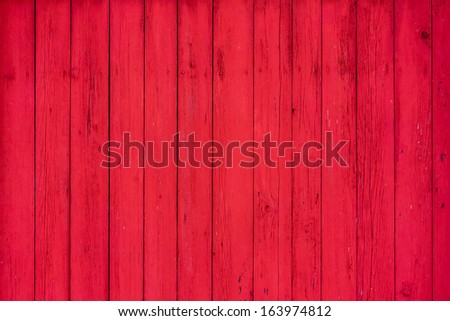 Red Wooden Boards Background Texture