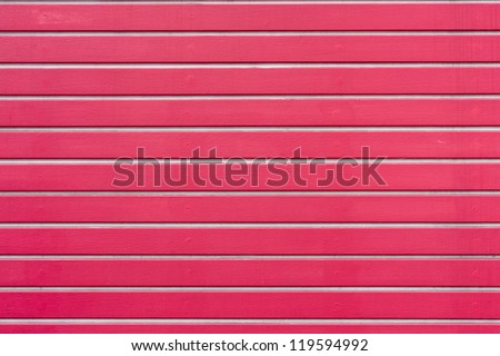 Red wooden lath background