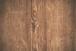 Red wooden texture. Vintage rustic style. Natural surface, background and wallpaper. Toned