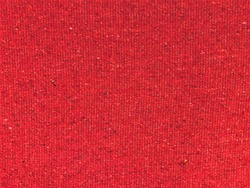 Red woven wool blend speckled tweed upholstery fabric texture
